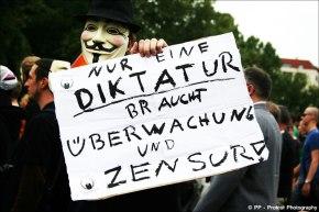 Nur Diktatur braucht Überwachung – FSA2011