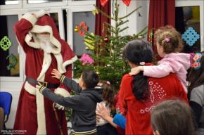 Weihnachten im Flüchtlingsheim Marzahn-Hellersdorf