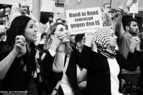 Gegen das Massaker in Suruç – Solidemo inKreuzberg