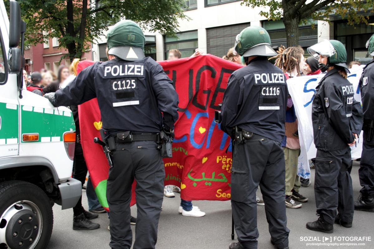 Besetzung und Räumung Unigebäude in Charlottenburg