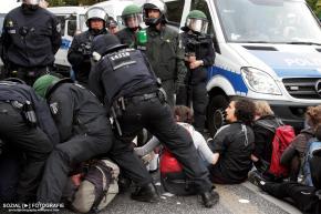Marsch für das Leben – What the Fuck? BerlinBlockaden