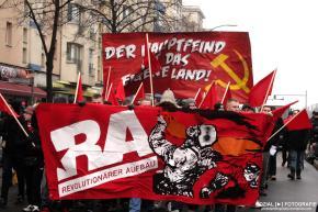 LL-Liebknecht/Luxemburg Demo und Gedenkveranstaltung