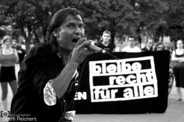 Demo: Bleiberecht für alle Sinti und Roma, Berlin 2016