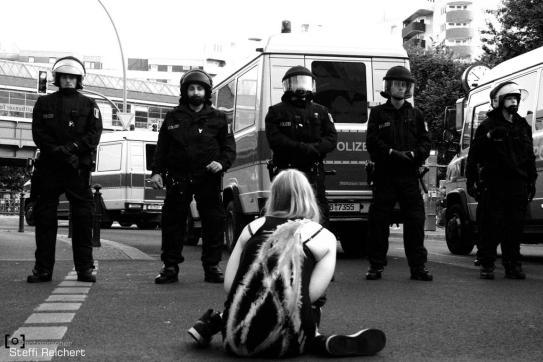 """Demo """"Gegen das Massaker in Suruc"""", Berlin 2015"""