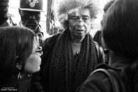 """Angela Davis 2015 in Berlin: """"The Refugee movement is the movement of the 21st Century"""""""