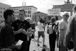 Solidarität mit den Opfern des Mauerbaus, 2016