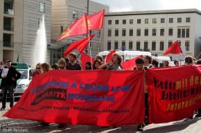 Demonstration in Solidarität mit den Kämpfen inFrankreich!
