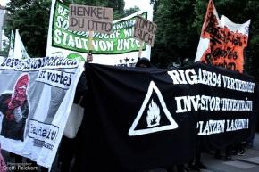 Solidaritätsdemo für die Rigaer94